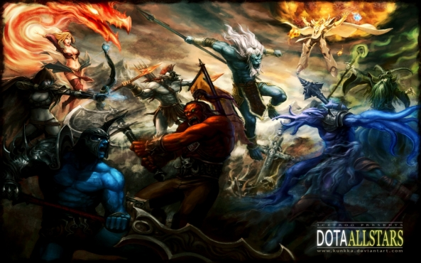 Dota Load Screen