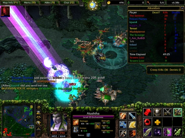Screenshot from DoTA